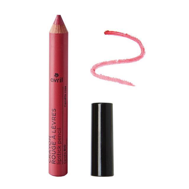 Lipstick pencil Camélia Rose  Certified organic