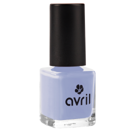Nail polish light blue Bleu Layette