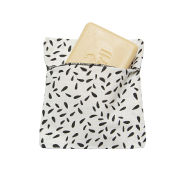 Soap pouch Coated organic cotton