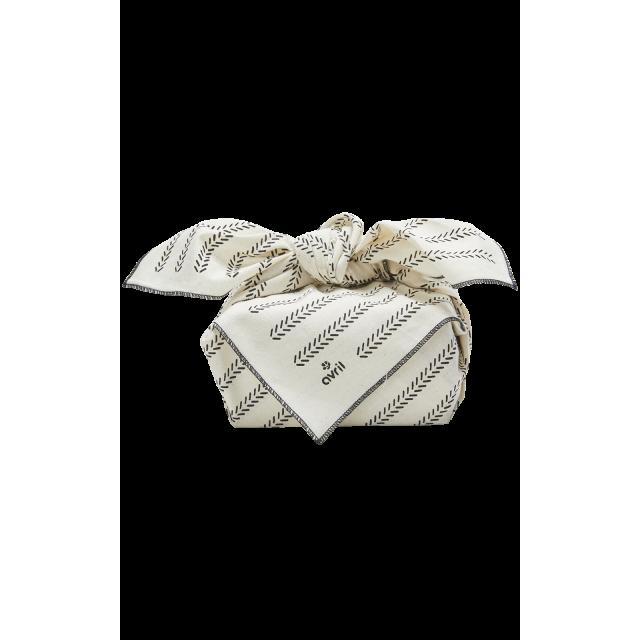 Furoshiki Épis 65 x 65 cm  Organic cotton