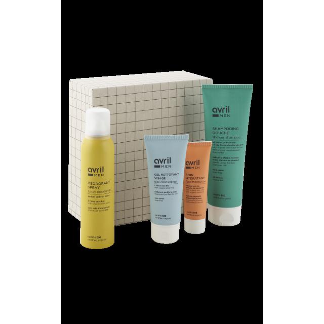 Gift box Un homme tout bio  - Cosmetics certified organic
