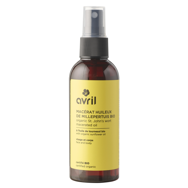 St. John's Wort macerated oil  Certified organic - 100 ml