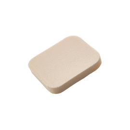 Square make-up sponges x2 latex-free