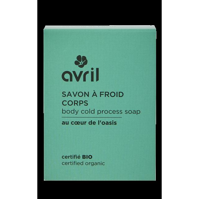 Body cold process soap Invigorating  100g - Certified organic