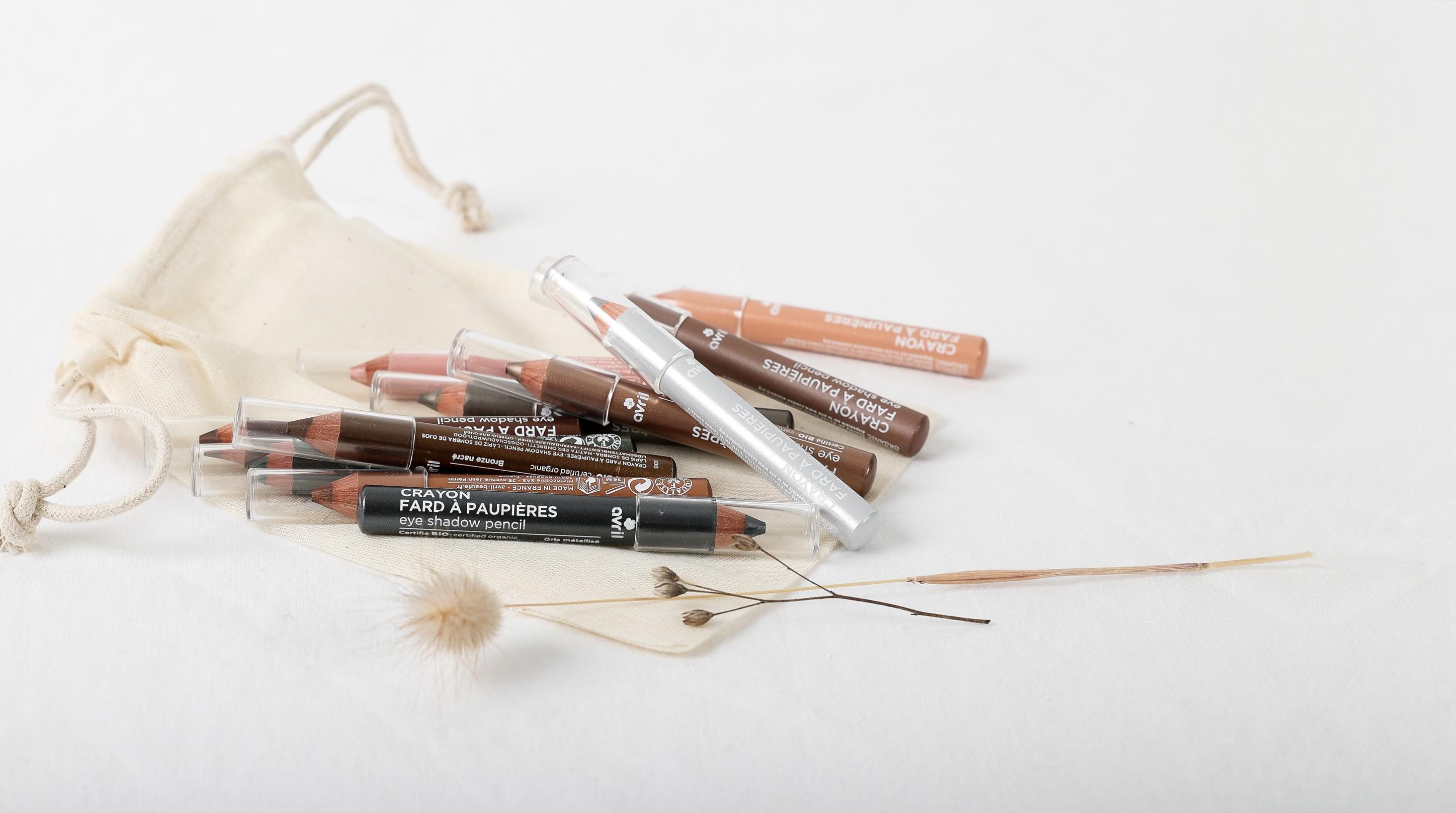 Crayon fard à paupières Gris métallisé  Certified organic