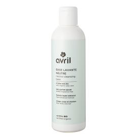 Neutral cleansing base  240ml - Certified organic