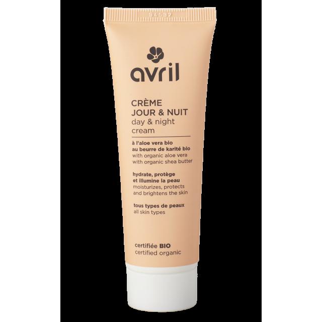 Day and night cream  50 ml – Certified organic