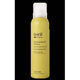 Spray deodorant Men  150 ml – Certified organic