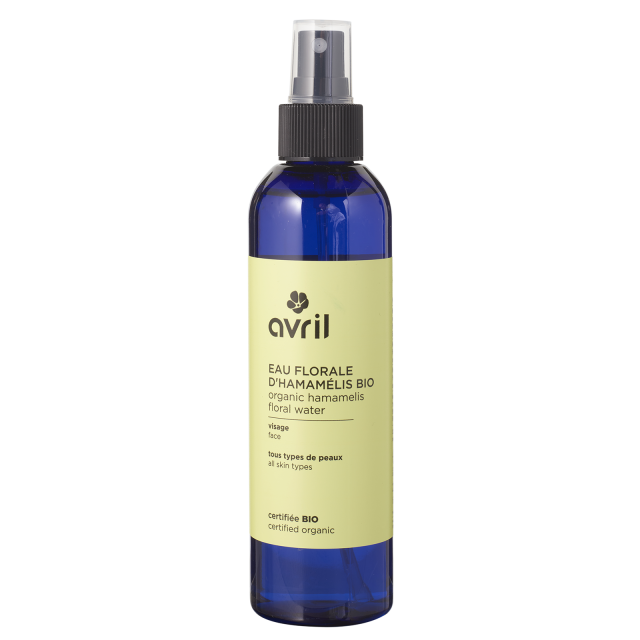 Hamamelis floral water  200ml - Certified organic