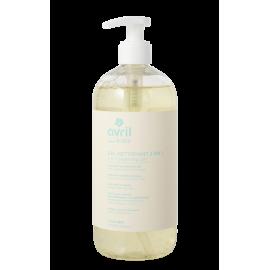 2 en 1 cleansing gel Baby certified organic