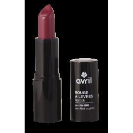 Lipstick Grenat n°635   Certified organic