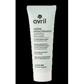 Quenching face cream  30ml - Certified organic