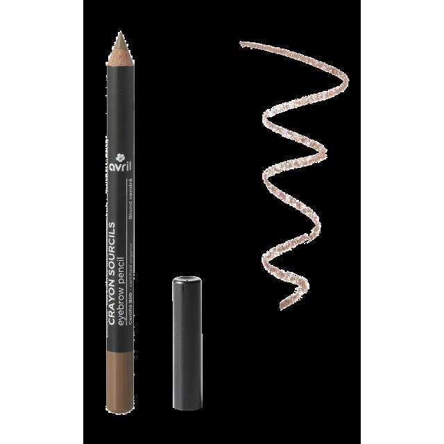 Eyebrow pencil Blond Cendré  Certified organic