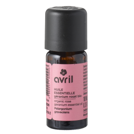 Organic Pink Geranium essential oil  10ml