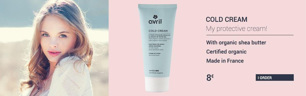Organic cold cream
